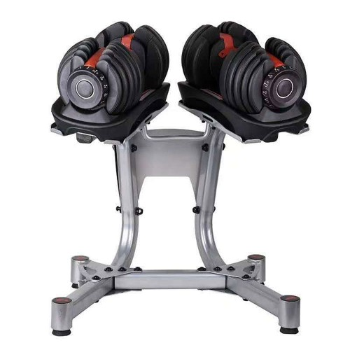 Base for adjustable dumbbells