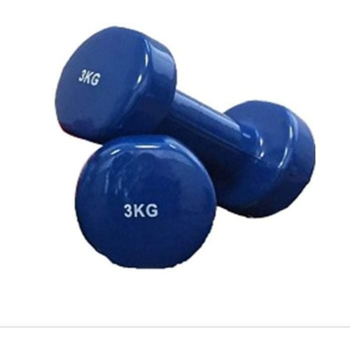 3kg Luxury Vinyl Dumbbells (in pairs)