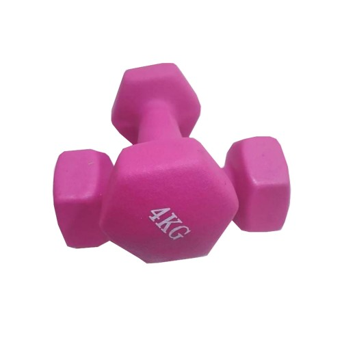 4kg Luxury Vinyl Dumbbells (in pairs)
