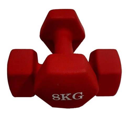 8kg Luxury Vinyl Dumbbells (in pairs)