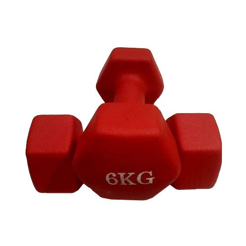 6kg Luxury Vinyl Dumbbells (in pairs)