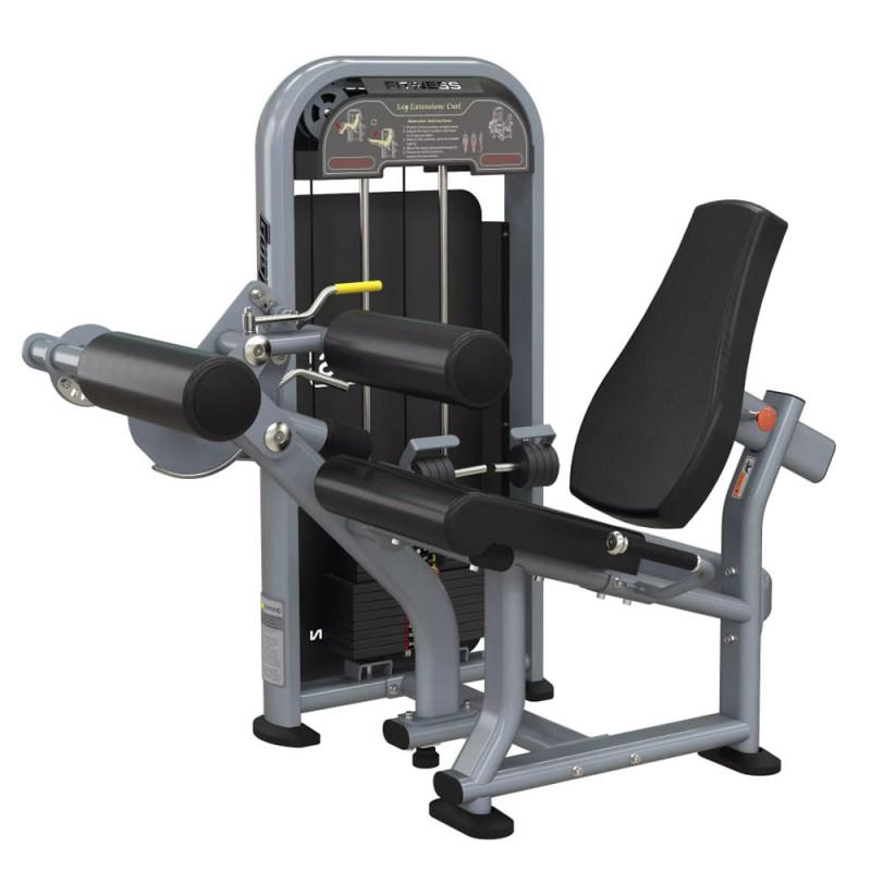 Leg Extention/Curl (121kg οι πλάκες των κιλών και ανά κιλό η ρύθμιση)